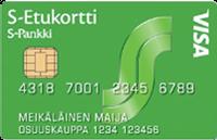 S-Etukortti Visa Credit