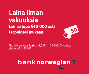 Bank Norwegian Finland